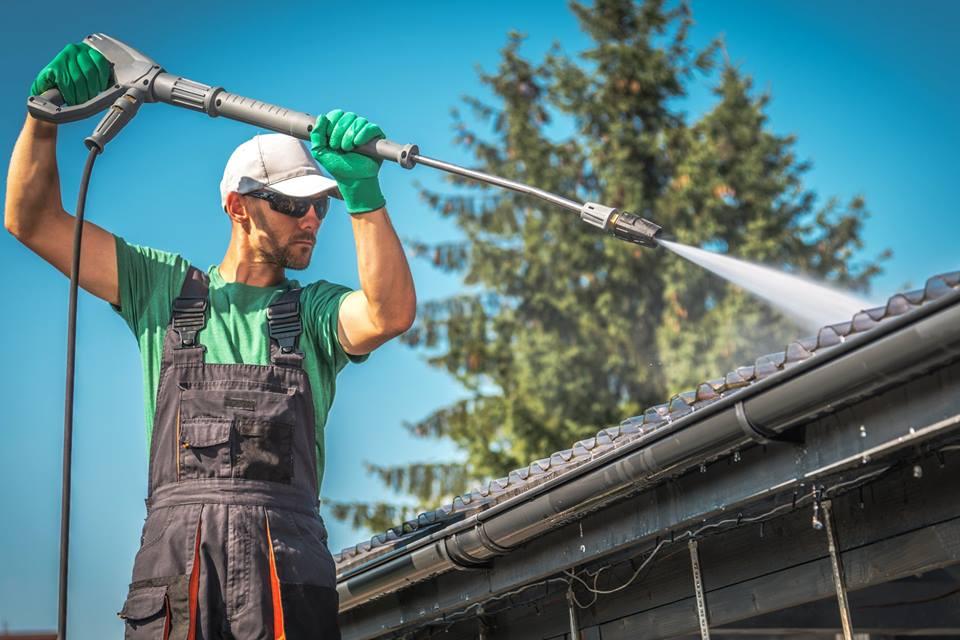 katuse pesu ja katuse puhastus
